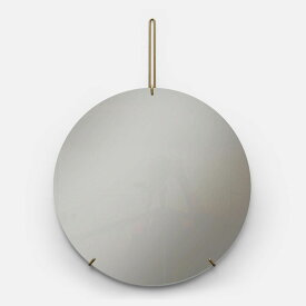 【10%OFFクーポン対象】ムーべ MOEBE ウォールミラー 50cm ブラス WMBR50 ハロウィン