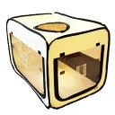 ペット用酸素室 ペット オキシ ホテルスクエア 【Sサイズ】 リニューアル 小型動物用 組み立て不要 酸素ケージ/酸素テ…