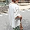 【M-4】【メール便対応C】【送料無料】コットン オーバーサイズ 配色ステッチ Tシャツ レディース 半袖 クルーネック …