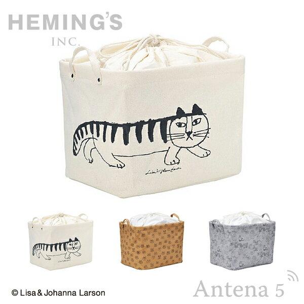 《全3色》HEMING'S Pilier Square Short LISA LARSON スケッチ 収納ボックス 【リサラーソン ヘミングス テンテ リサ・ラーソン デザイン雑貨 リビング インテリア 北欧 スウェーデン】