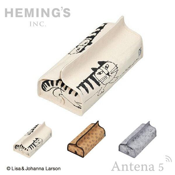 《全3色》HEMING'S tente LISA LARSON スケッチ ティッシュケース 【リサラーソン ヘミングス テンテ リサ・ラーソン デザイン雑貨 リビング インテリア 北欧 スウェーデン】