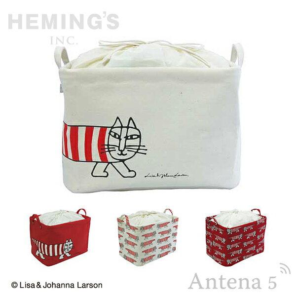 《全7色》HEMING'S Pilier Square Short マイキー 収納ボックス 【Lisa Larson ヘミングス テンテ リサラーソン デザイン雑貨 リビング インテリア 北欧 スウェーデン】