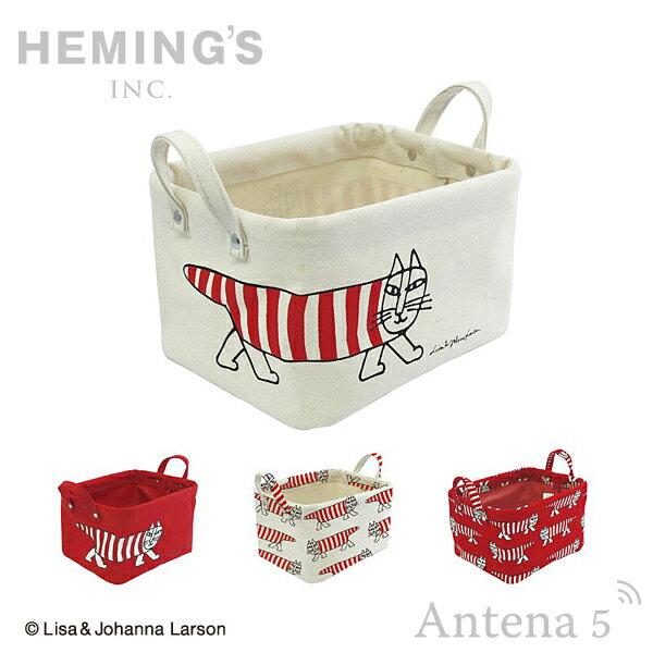 《全7色》HEMING'S Pilier Square Short 【S】 マイキー 収納ボックス 【Lisa Larson ヘミングス テンテ リサラーソン デザイン雑貨 リビング インテリア 北欧 スウェーデン】