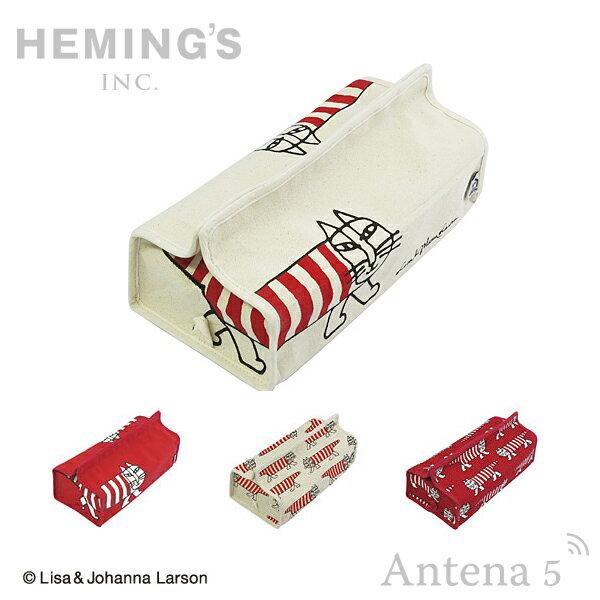 《全7色》HEMING'S tente マイキー ティッシュケース 【Lisa Larson ヘミングス テンテ リサラーソン デザイン雑貨 リビング インテリア 北欧 スウェーデン】
