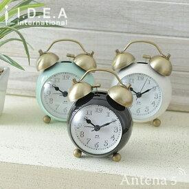 《全3色》BRUNO ゴールドツインベルクロック 【ブルーノ IDEA イデアレーベル 置き時計 掛け時計 目覚まし時計 デザイン雑貨 北欧】