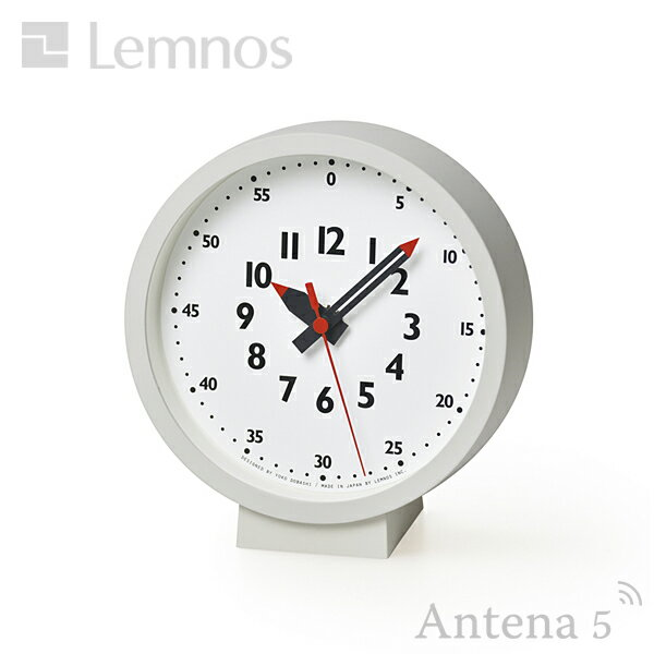 Lemnos fun pun clock for table 【タカタレムノス フンプンクロック ふんぷんくろっく 置き時計 置時計 デザイン雑貨 北欧 デスククロック ウォールクロック 掛け時計 壁掛時計 テーブルクロック】