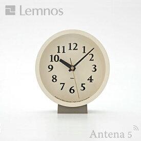 《全4色》Lemnos m clock 【電波時計 タカタレムノス エムクロック 置き時計 掛け時計 デザイン雑貨 北欧】