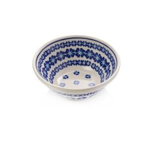 セラミカ(ツェラミカ)【ブラウ】ボール(小)BlauBowl(S)|ポーリッシュポタリー(ポーランド陶器・北欧・Ceramika Artystyczna)|※包装のしメッセージカード無料対応