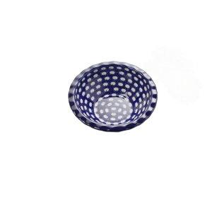 送料無料|セラミカ(ツェラミカ)【ドヌーブ】波型ボール|ポーリッシュポタリー(ポーランド陶器・北欧・Ceramika Artystyczna)|※包装のしメッセージカード無料対応