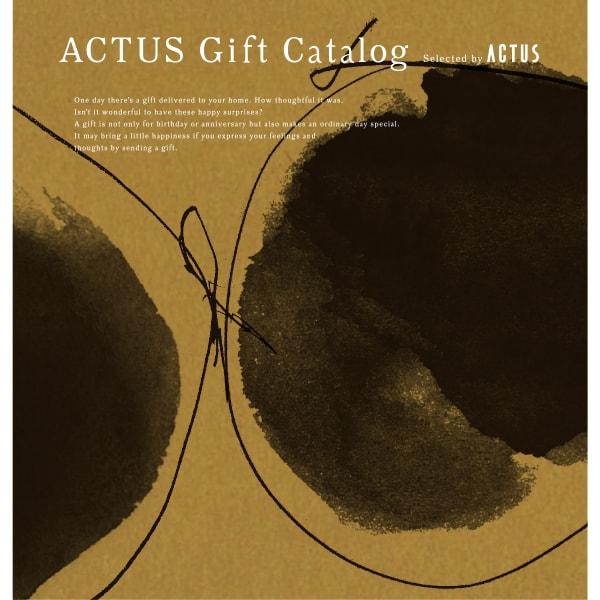 ACTUS(アクタス) ギフトカタログ <Edition Y_O>【結婚内祝い 出産内祝い 結婚祝い その他お返しにおすすめなカタログギフト】イエローオーカー|※平日9時まで当日出荷(カード限定)※包装のしメッセージカード無料対応