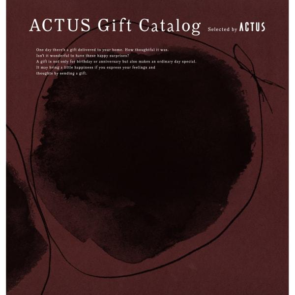 送料無料|ACTUS(アクタス) ギフトカタログ <Edition W_R>【結婚内祝い 出産内祝い 結婚祝い その他お返しにおすすめなカタログギフト】ワインレッドエディション|※平日9時まで当日出荷(カード限定)※包装のしメッセージカード無料対応