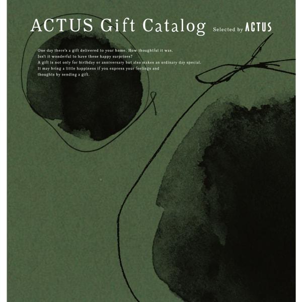 送料無料|ACTUS(アクタス) ギフトカタログ <Edition M_G>【結婚内祝い 出産内祝い 結婚祝い その他お返しにおすすめなカタログギフト】モスグリーンエディション|※あす楽(翌日配送)はカード限定※包装のしメッセージカード無料対応