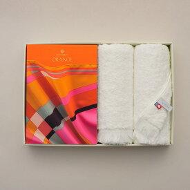 送料無料|ヴァンウエスト(VENTOUEST) ギフトカタログ 「ORANGE(オランジュ)」+今治フェイスタオルセット【結婚内祝い 出産内祝い 引出物 各種お返しにおすすめなカタログギフト】 |※包装のしメッセージカード無料対応
