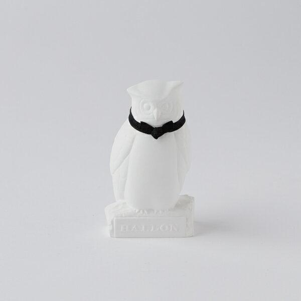 BALLON (バロン) アロマオーナメント Owl/黒/ラベンダー|※包装のしメッセージカード無料対応