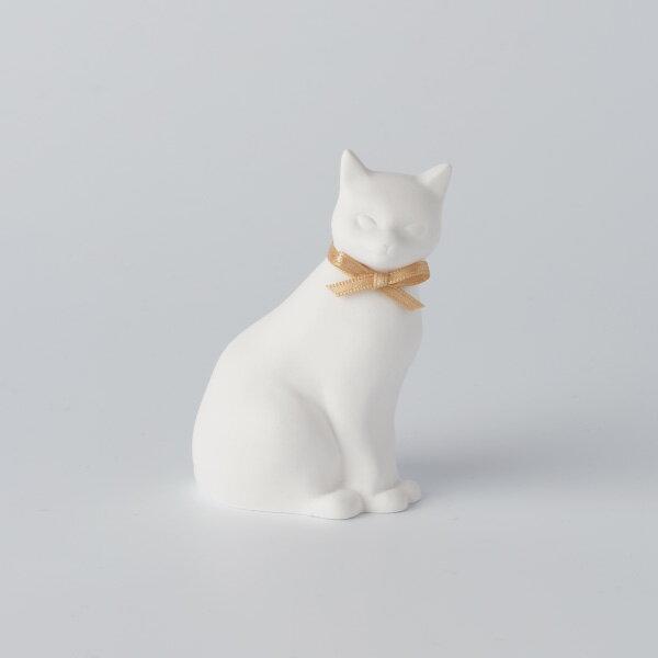 BALLON (バロン) アロマオーナメント Cat/ゴールド/ユーカリ|※包装のしメッセージカード無料対応
