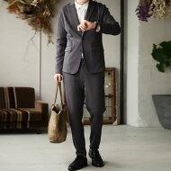 スーツトレンドのカチっとし過ぎない抜け感で着こなしの幅が広がる。・メール便不可