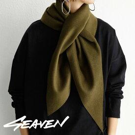 「SEAVEN」FOXTAIL SCARF フォックステイルスカーフ・11月5日0時〜再販。(50)メール便可【MENS】