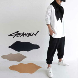 「SEAVEN」WAVEFORM SCARF ウェーブフォームスカーフ・11月30日0時〜再再販。(50)メール便可【MENS】