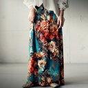 花柄スカート レディース ボトムス スカート 花柄・5月10日0時〜再再販。メール便不可 母の日
