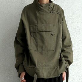 ミリタリージャケット ジャケット レディース 長袖 送料無料・1月20日0時〜発売。メール便不可