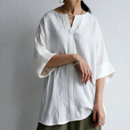 キーネックシャツシャツレディーストップス送料無料・3月10日0時〜発売。(80)メール便可