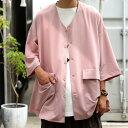 シャツジャケット ジャケット メンズ アウター 送料無料・7月14日10時〜発売。メール便不可【M】