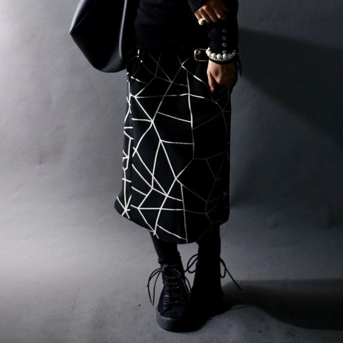 お洒落なワタシに出逢えた瞬間。柄変形タイトスカート##・11月18日20時〜再再販。