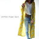 期間限定送料無料!花柄羽織り、この世界観が好きで。『とびきりをいつも着ていたい。』5月10日20時〜発売!一歩リードする。花柄ロング羽織り##j6