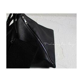 ひときわ個性を放つ、三角ショルダーバッグ・再再販。トライアングル BAG 鞄 「G」×メール便不可!・##