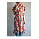印象的なイロ、花柄際立つ。デザインシャツワンピース・2月5日20時〜発売。