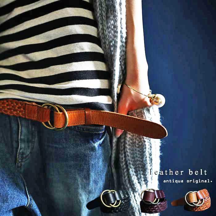素敵女子への第一歩。本革ベルト・7月14日20時〜再再販。お洒落に変わる本革ベルト。『上質な素材と拘りのデザイン』##