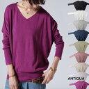 選べる長袖コットンニット・再再販。色違いで欲しくなる、豊富なカラー。「G」##×メール便不可!