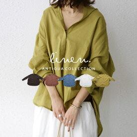 大人の新定番。女っぽい抜け感を演出する。スタンドカラーシャツ・再販。(80)メール便可