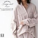 メンズライク。ゆるさでツクル、絶妙女っぽ見せ。ポケットデザインシャツ・2月15日20時〜再販。(100)メール便可