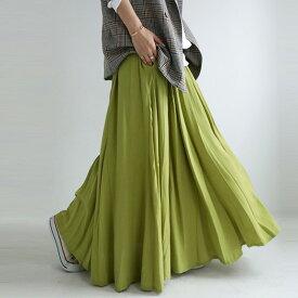 風になびかせて今日も歩く。フレアデザインスカート・8月30日0時〜再再販。惚れ色で甘さだけじゃない。揺れ感ふわっと、愛されのオキテ。メール便不可