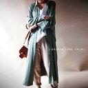 ボタンが隠れるハイデザイン。『一枚で完成する、ワイドシルエットのロングシャツ。』2月15日20時〜再販!ドレープの美しさで身を包む。ドルマンロングシャツ##e1...
