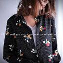 期間限定送料無料!ドットを効かせた花柄が見映え。『飾らなくともカッコいいシャツが使える。』4月16日20時〜発売!選ばれるワケがある。花柄ドットシャツi3