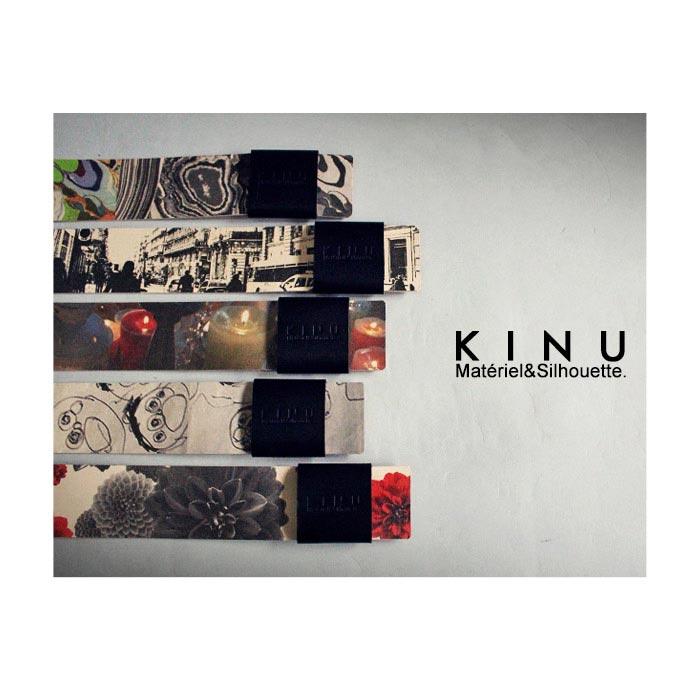 最高傑作、KINUブランドdebut。オリジナル本革バングル・再再販。転写 プリント「G」(10)◎メール便可!