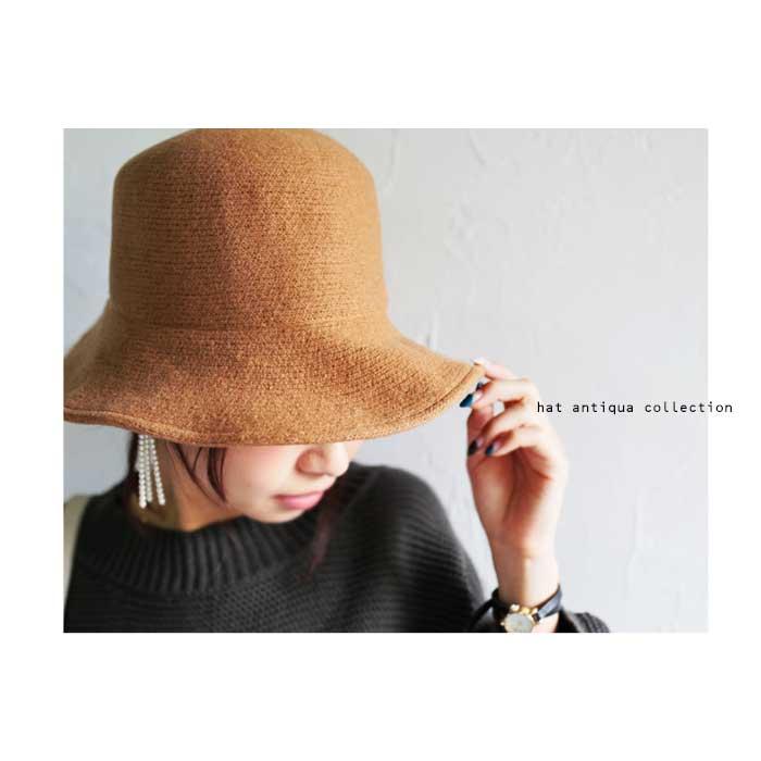 お出かけしたくなる。起毛がかった暖かみあるハット・11月13日20時〜再再販。帽子##