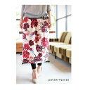 色使いがotonaっぽくって美しい。花柄フレアスカート・2月7日20時〜発売。##