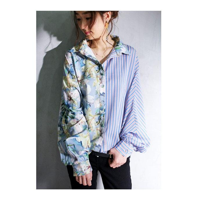 理想のシャツに出逢えた。花柄ストライプドルマンシャツ・2月15日20時〜発売。