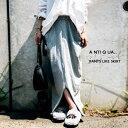 パンツのように着こなせる、不思議なカタチ。ミニ裏毛変形スカート・7月25日20時〜発売。##