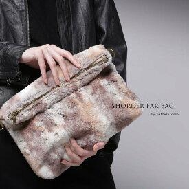 リッチカジュアルな上品で女性らしいアクセント。2wayファーバッグ・20時〜再販。「G」##×メール便不可!