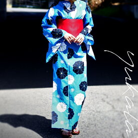 大発表!!目を惹く鮮明なイロと花。帯&下駄付き花柄浴衣3点セット・##×メール便不可!【198B】