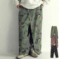 パンツ柄×ラップ風。一癖効かせたデザインで、こなれ感に磨きをかける・メール便不可