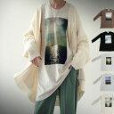 ロンT トレンド感ある、一枚でサマになるフォトロンTの長袖ver.が登場。・(80)メール便可【2011B】