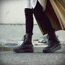 本革日本製。あの人気厚底ブーツの進化系。本革厚底ブーツ 送料無料・再再販。メール便不可