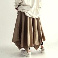 立体パターン。モードかつ大人可愛いボリューム感。変形ロングスカート・##×メール便不可!