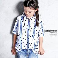3,000円(税抜)以上で送料無料!男の子も女の子もお洒落さんになる。・6月20日20時〜発売。ドット&ストライプシャツ