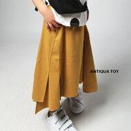 360度魅せるお洒落な変形のカタチ。無地アシメスカート・月日時〜発売。優しい肌触りで快適なキゴコチ。##
